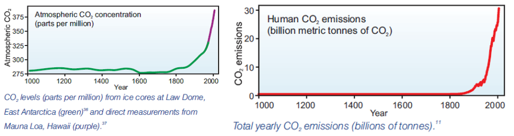 carbon dioxide increase